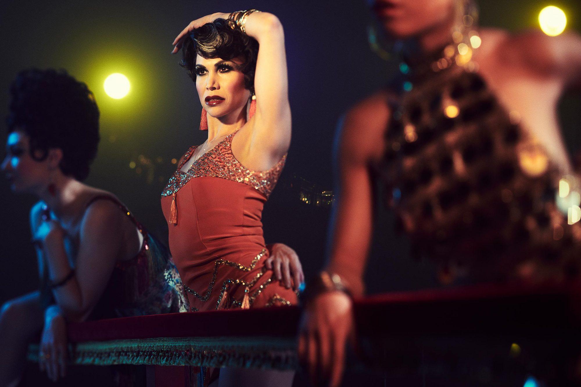 FOSSE VERDON -- Pictured: Bianca Marroquin as Chita Rivera. CR: Pari Dukovic/FX