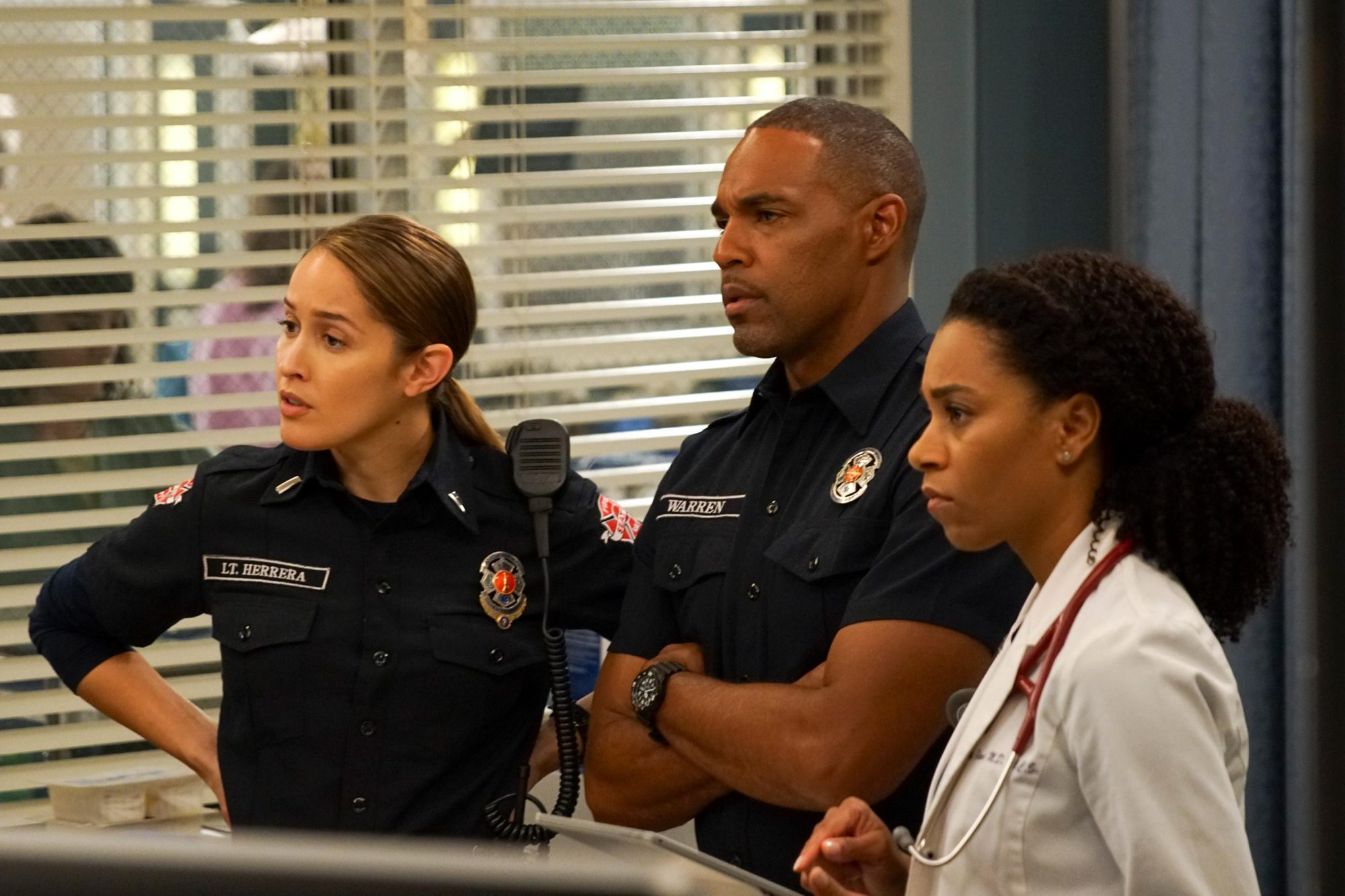 JAINA LEE ORTIZ, JASON GEORGE, KELLY MCCREARY