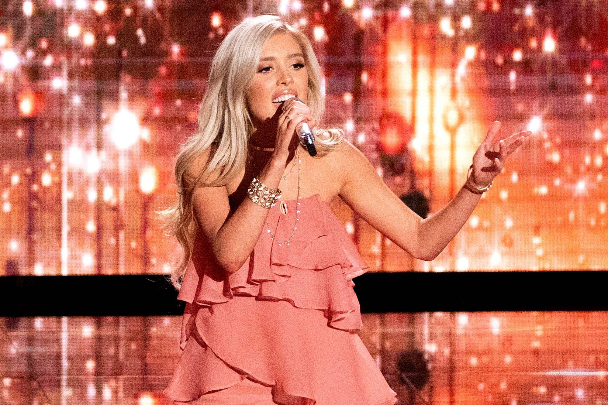 Laci Kaye Booth in American Idol on 4/15/19