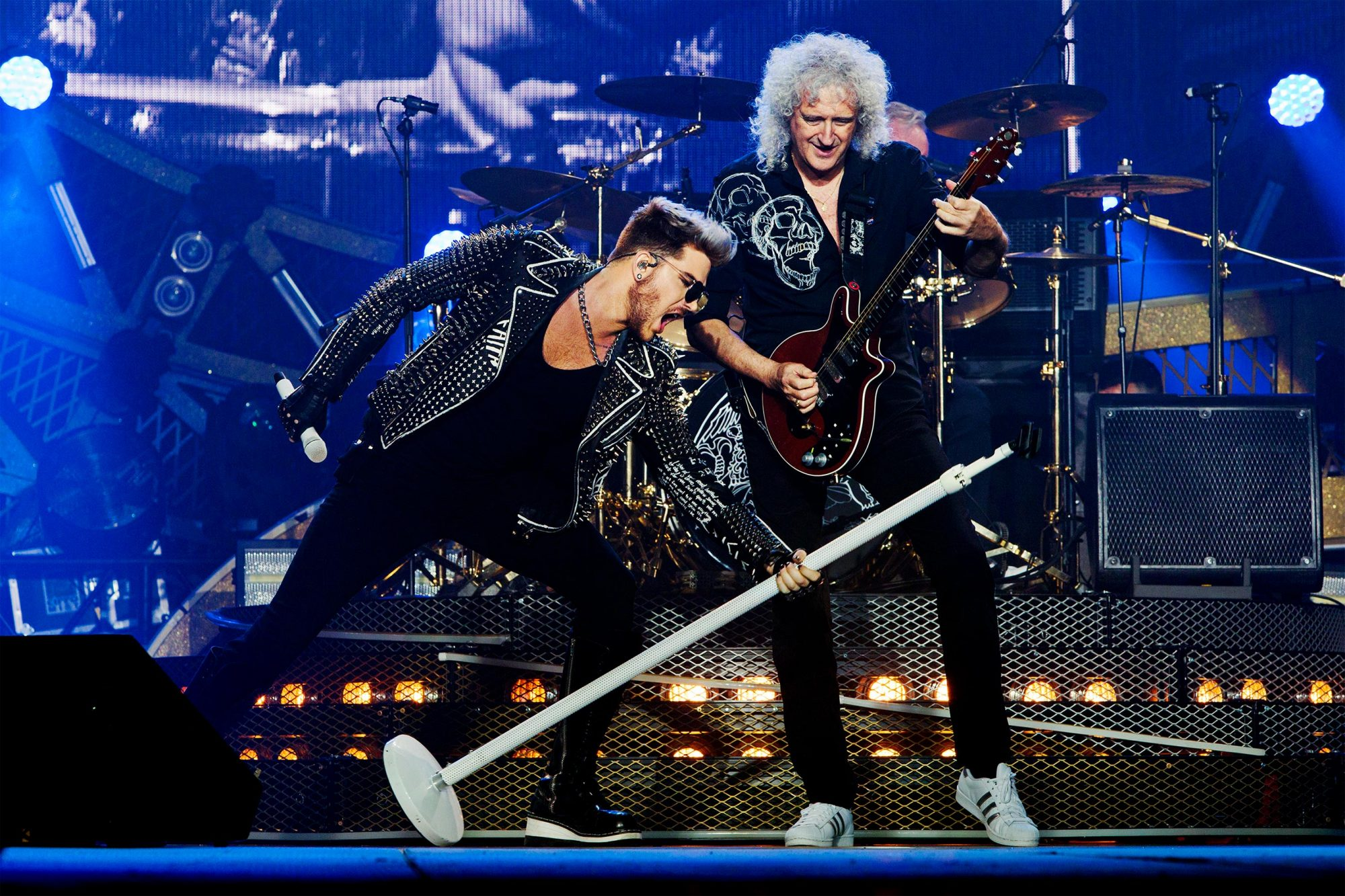 """THE SHOW MUST GO ON: THE QUEEN + ADAM LAMBERT STORY - On the heels of Queen and Adam Lambert's show-stopping opening performance at the Oscars on Sunday, February 24, Lincoln Square Productions has acquired the U.S. television rights to a documentary from Miracle Productions on the iconic band and their new regular frontman, Adam Lambert. Produced by Jim Beach and acclaimed writer and filmmaker Simon Lupton, """"The Show Must Go On: The Queen + Adam Lambert Story"""" airs MONDAY, APRIL 29 (8:00 - 10:00 p.m. ET) on the ABC Television Network, prior to Queen and Lambert's already sold-out July/August 2019 U.S. """"Rhapsody"""" tour. (Miracle Productions) ADAM LAMBERT, QUEEN"""