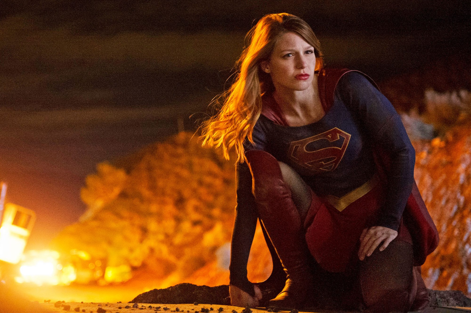 "SUPERGIRL ""Stronger Together"" Melissa Benoist"