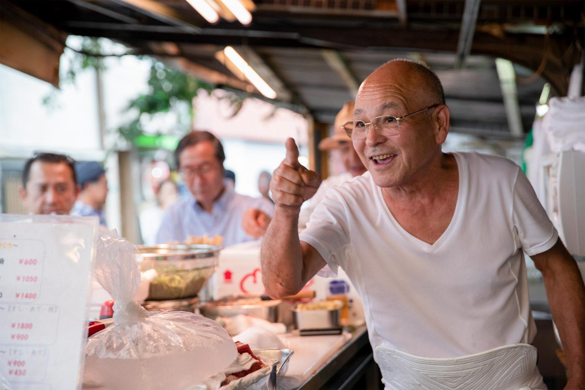 "Street Food Asia Season 1, Episode 2 ""Osaka, Japan"" PHOTO CREDIT Kosuke Arakawa/Netflix PICTURED Toyo"