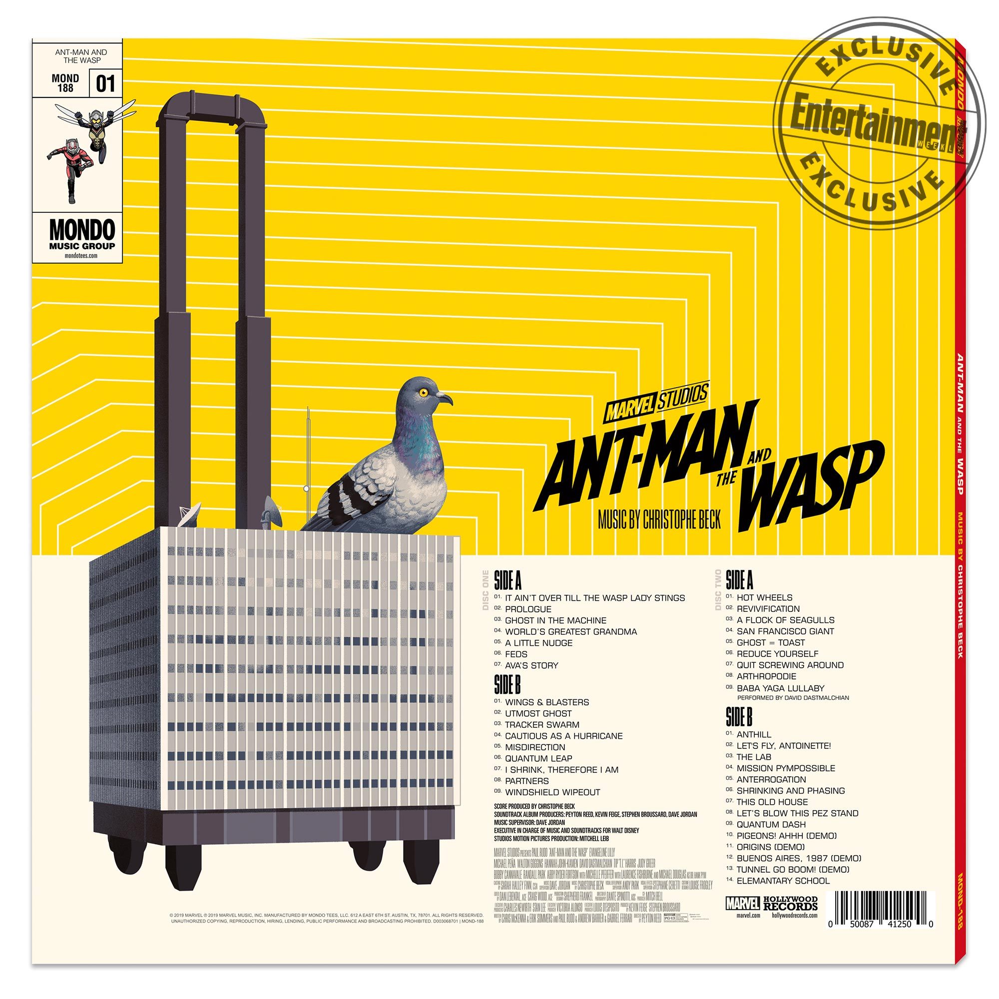 Ant-Man and The Wasp Vinyl