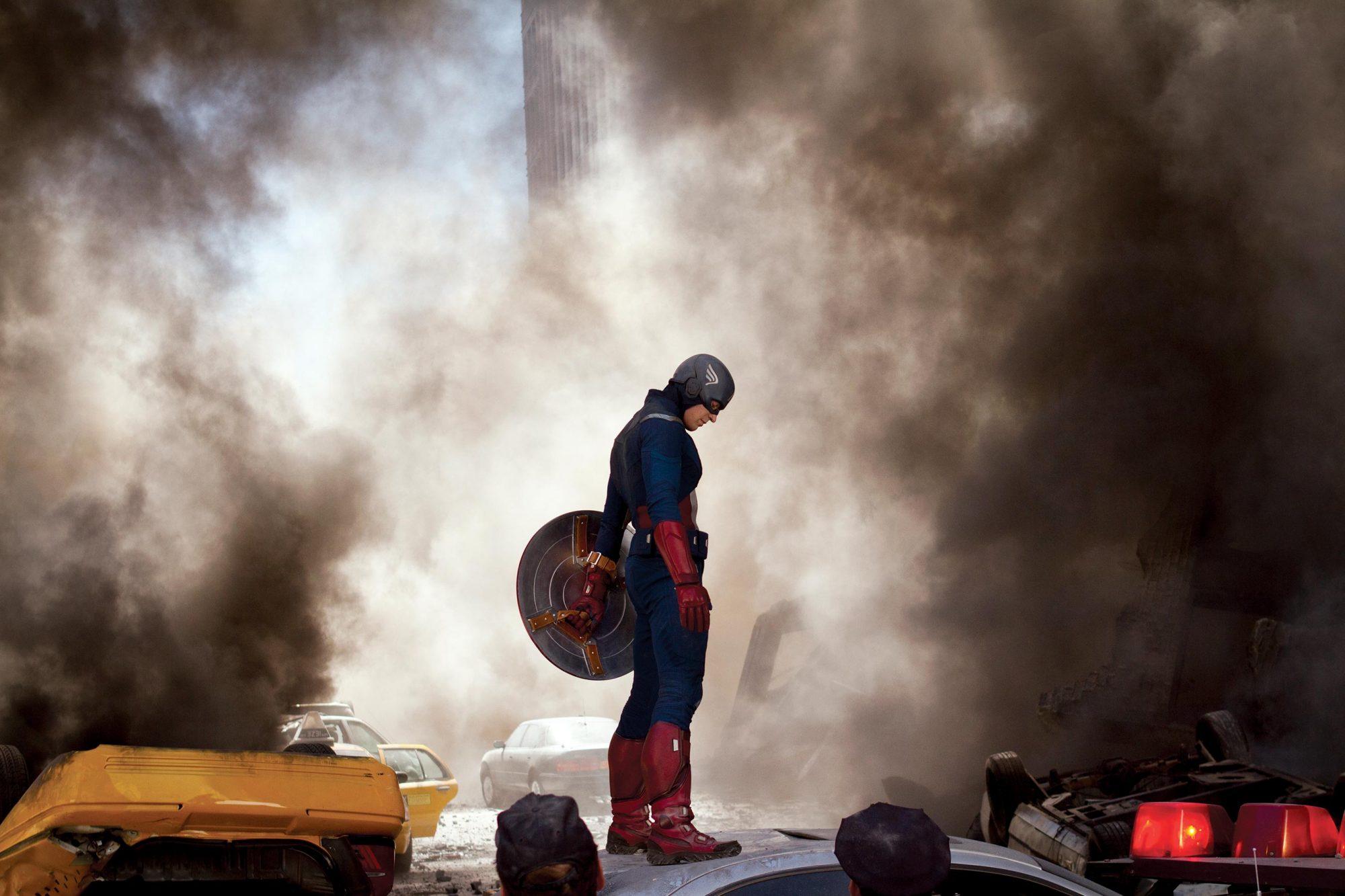 The Avengers (2012)Captain America aka Steve Rogers played by Chris Evans