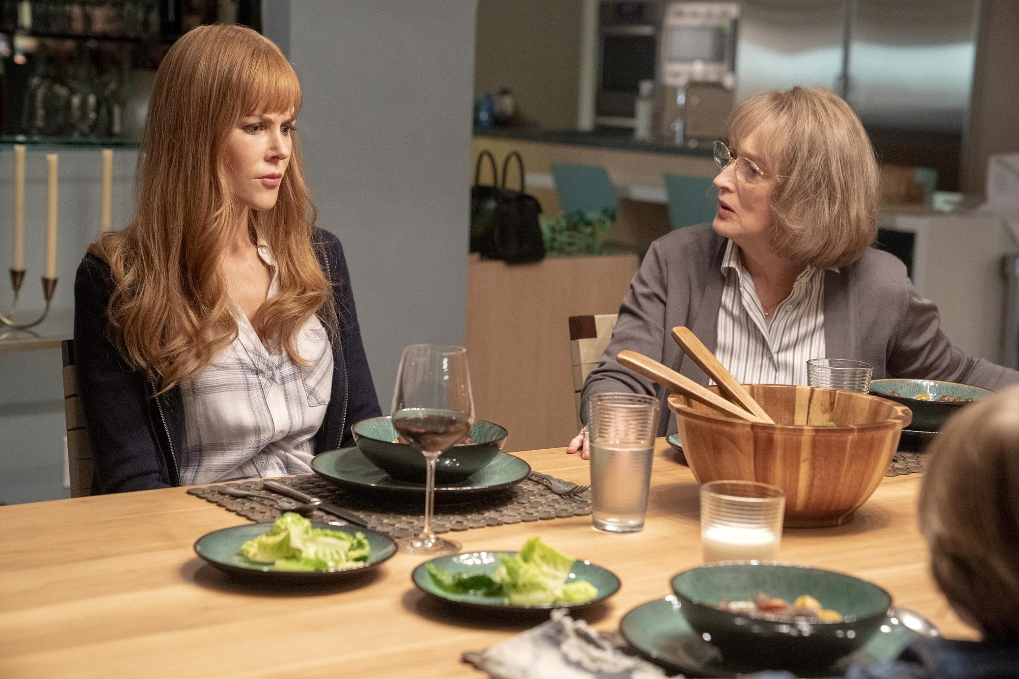 Big Little Lies Nicole Kidman and Meryl Streep