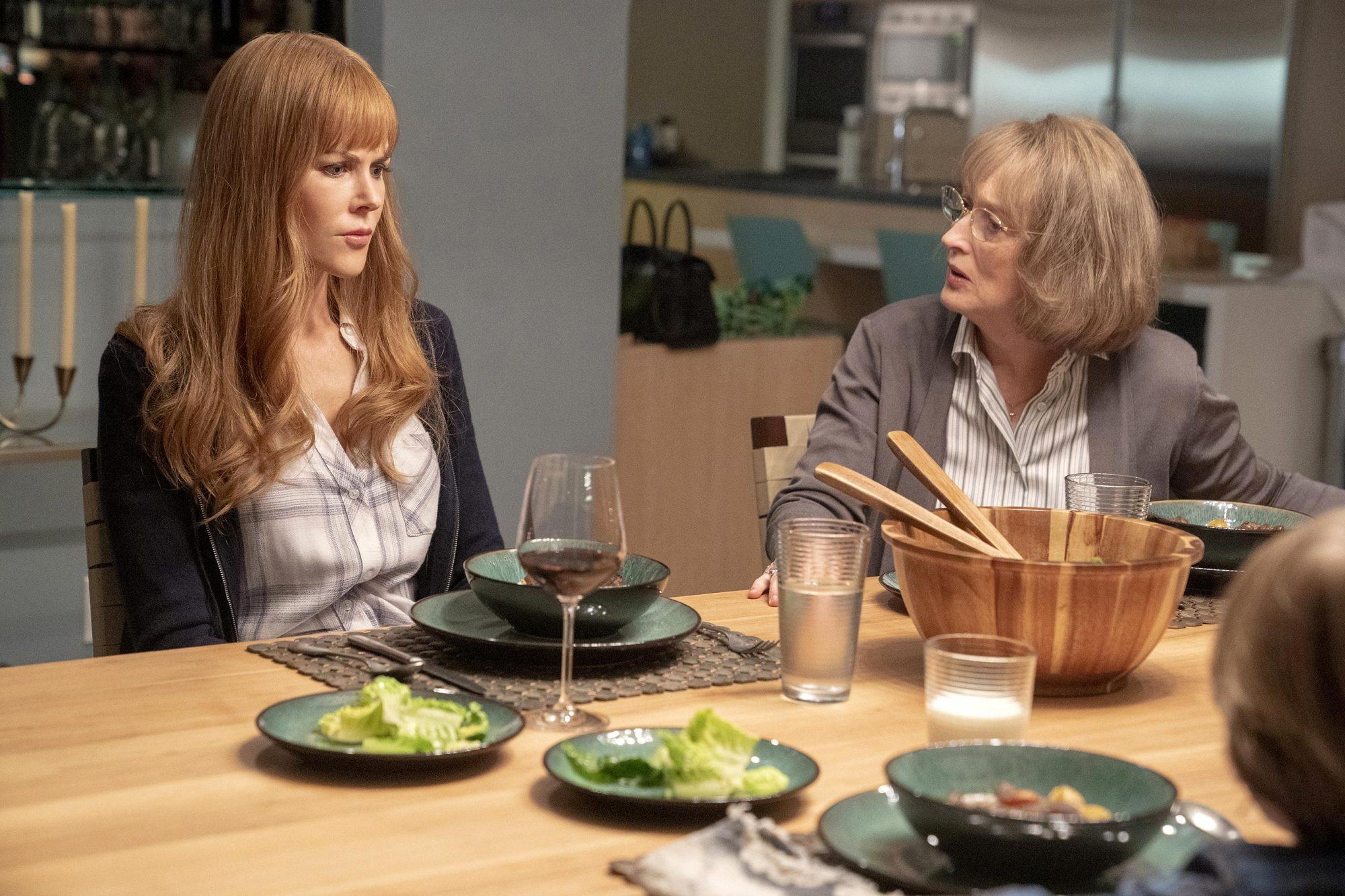 Big Little Lies Nicole Kidman and Meryl Streep