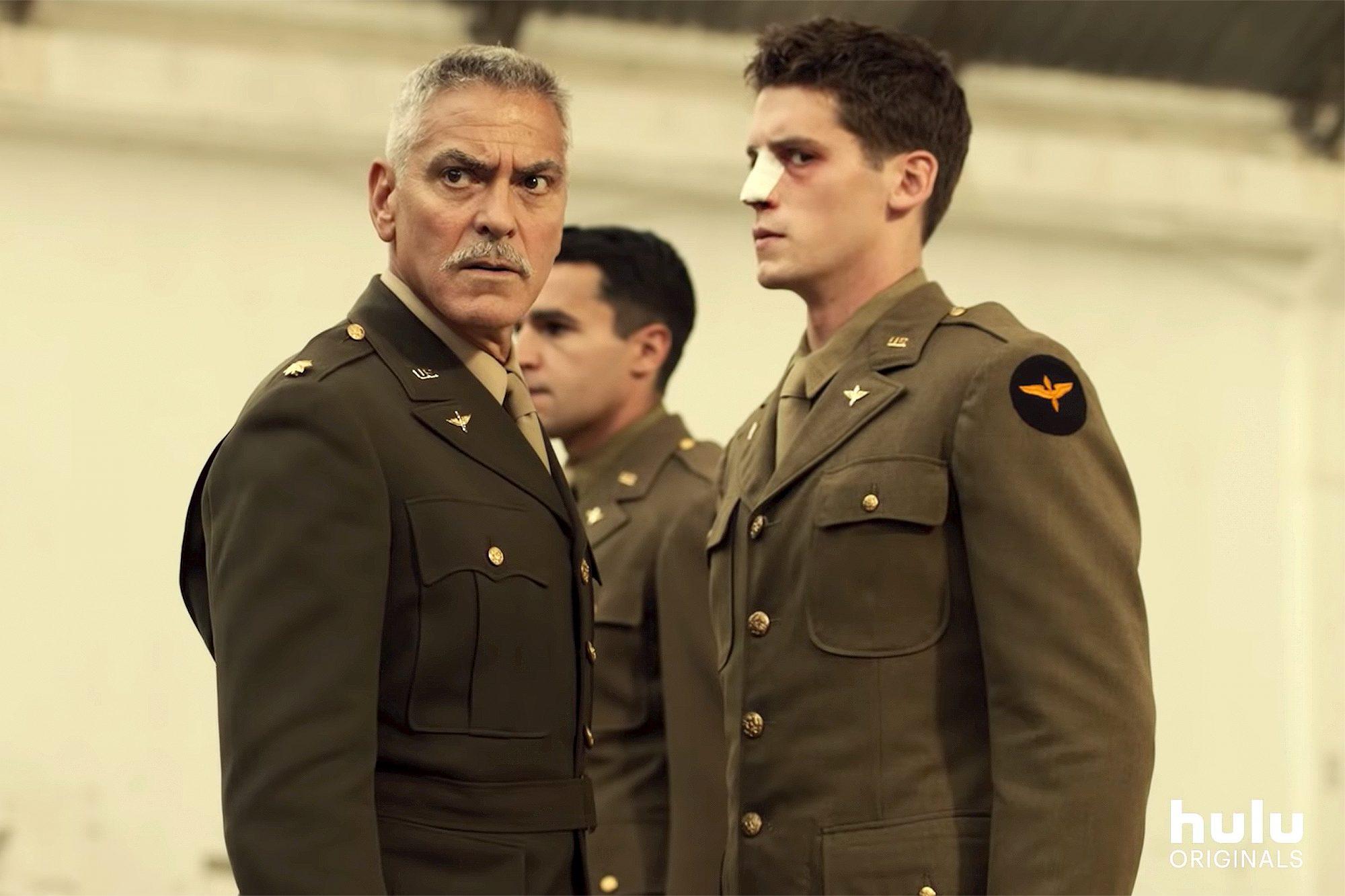 George Clooney in Hulu's new original series Catch 22