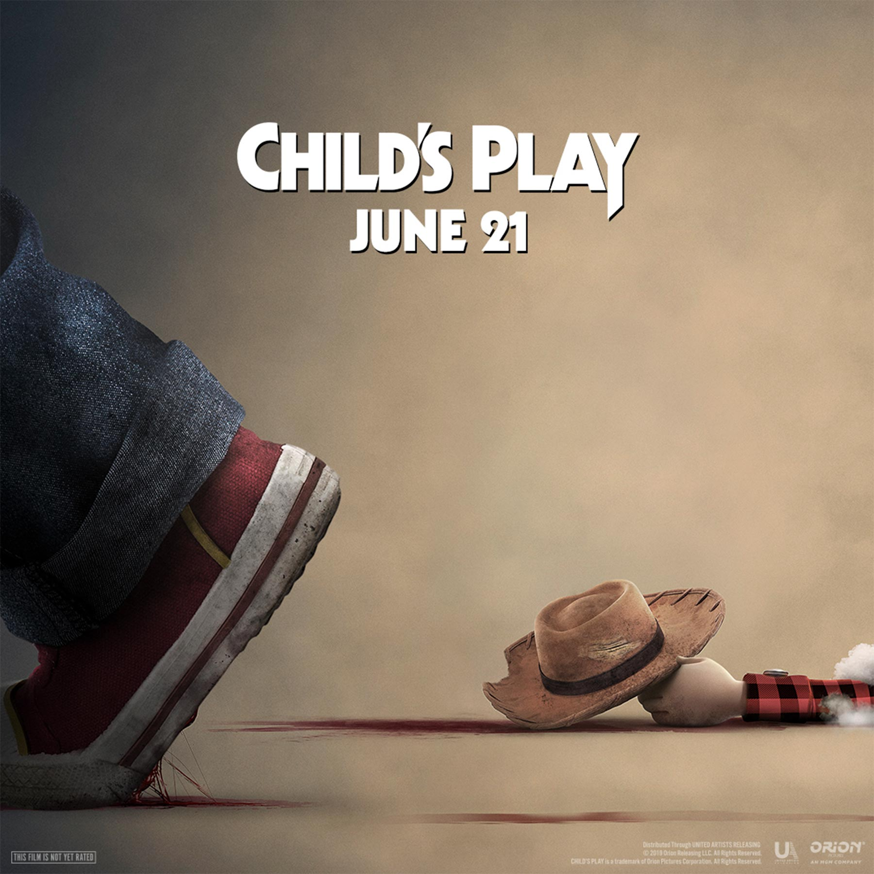 Child's Play movie poster CR: Orion Pictures