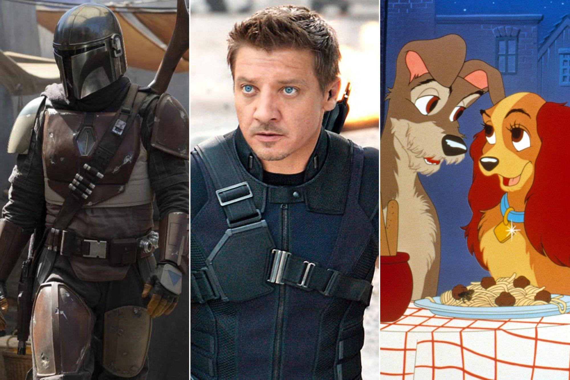 Disney+ Streaming serviceCredit: Lucasfilm; Marvel; Disney