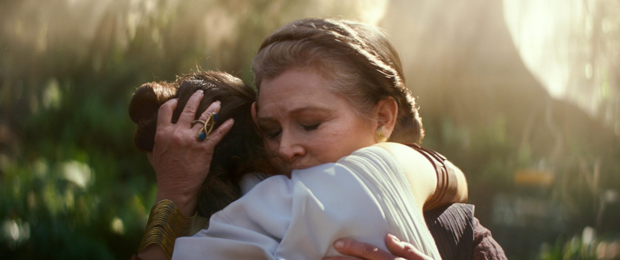 Daisy Ridley Describes Shooting Leia Scenes Without Carrie Fisher Ew Com