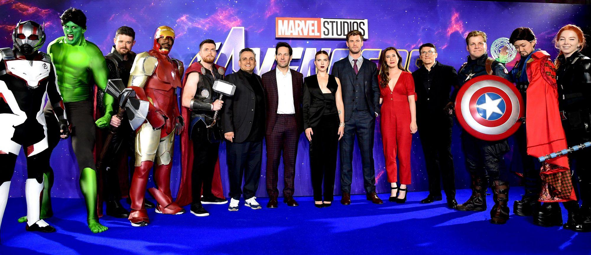Avengers: Endgame Fan Event - London