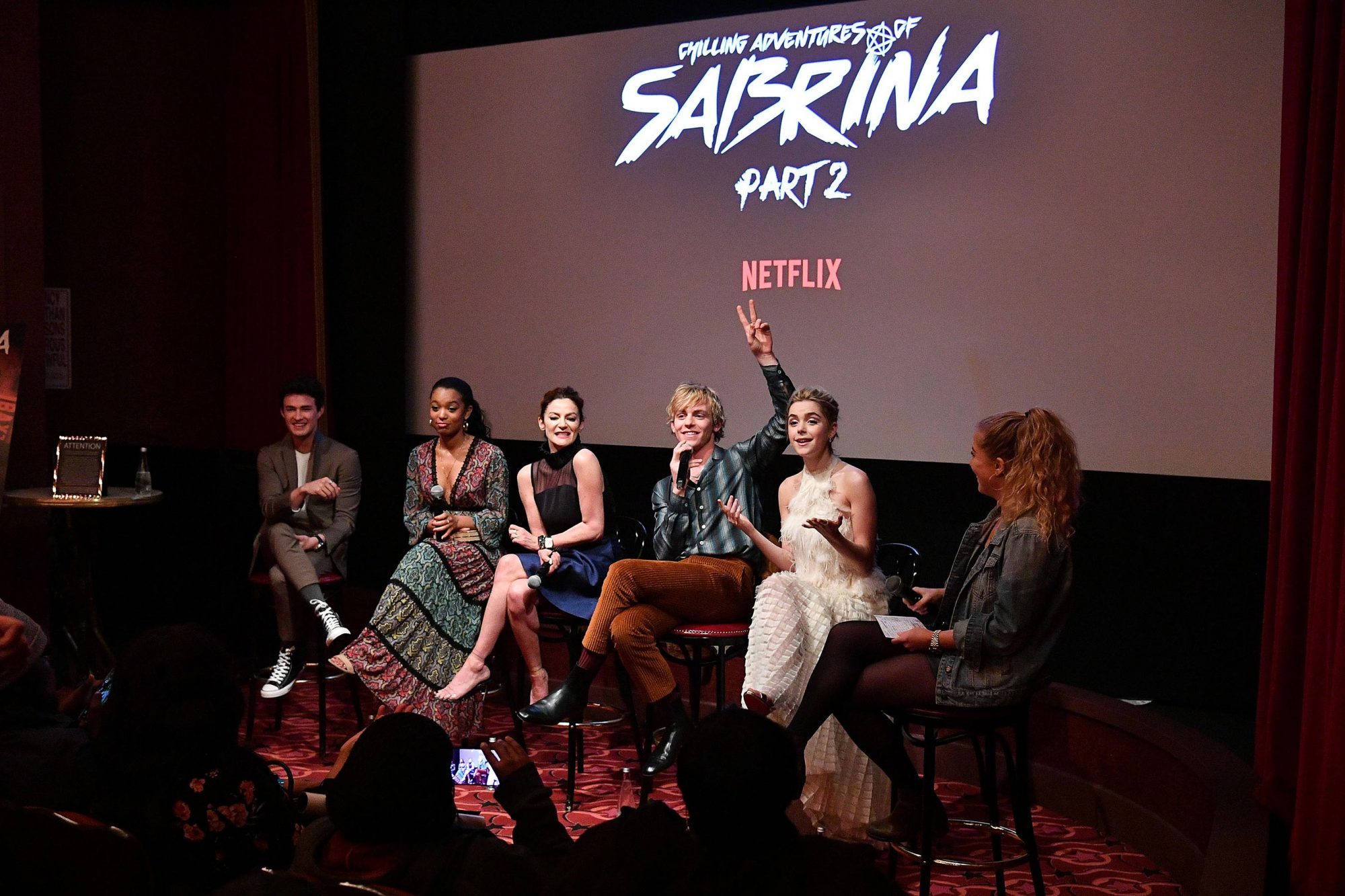 """Entertainment Weekly And Netflix Host A Screening Of The """"Chilling Adventures Of Sabrina: Part 2"""" In New York"""