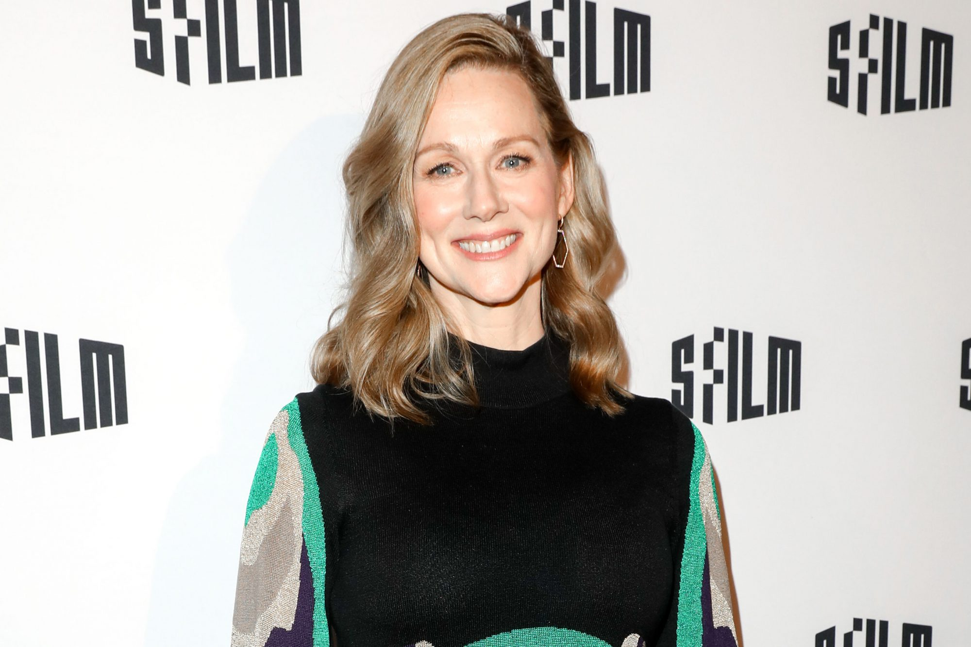 SAN FRANCISCO, CALIFORNIA - APRIL 10: Laura Linney poses for a photo on the red carpet at the Tales of the City Premiere at the Castro Theater on April 10, 2019 in San Francisco, California. (Photo by Kelly Sullivan/Getty Images for Netflix)