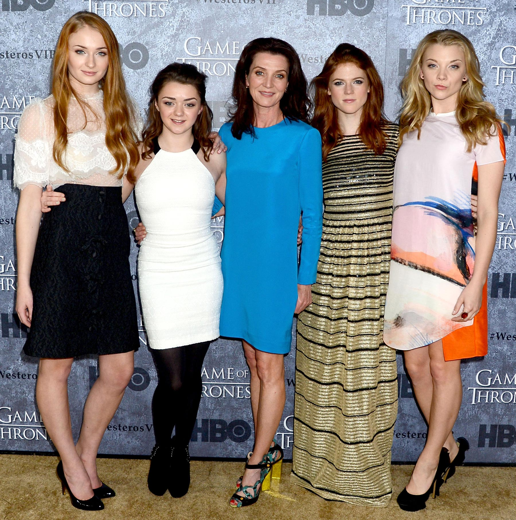 "HBO's ""Game Of Thrones"" Season 3 San Francisco Premiere - Red Carpet"