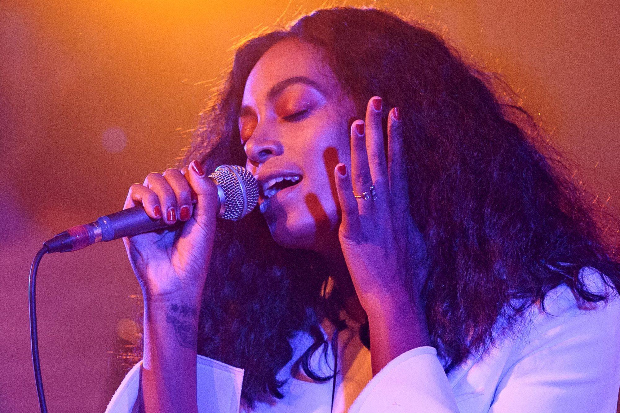 Solange Benefit Concert For Make It Right