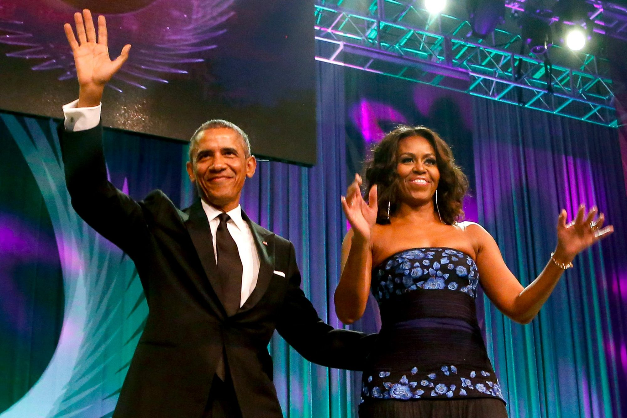 President Obama Attends the Congressional Black Caucus Dinner