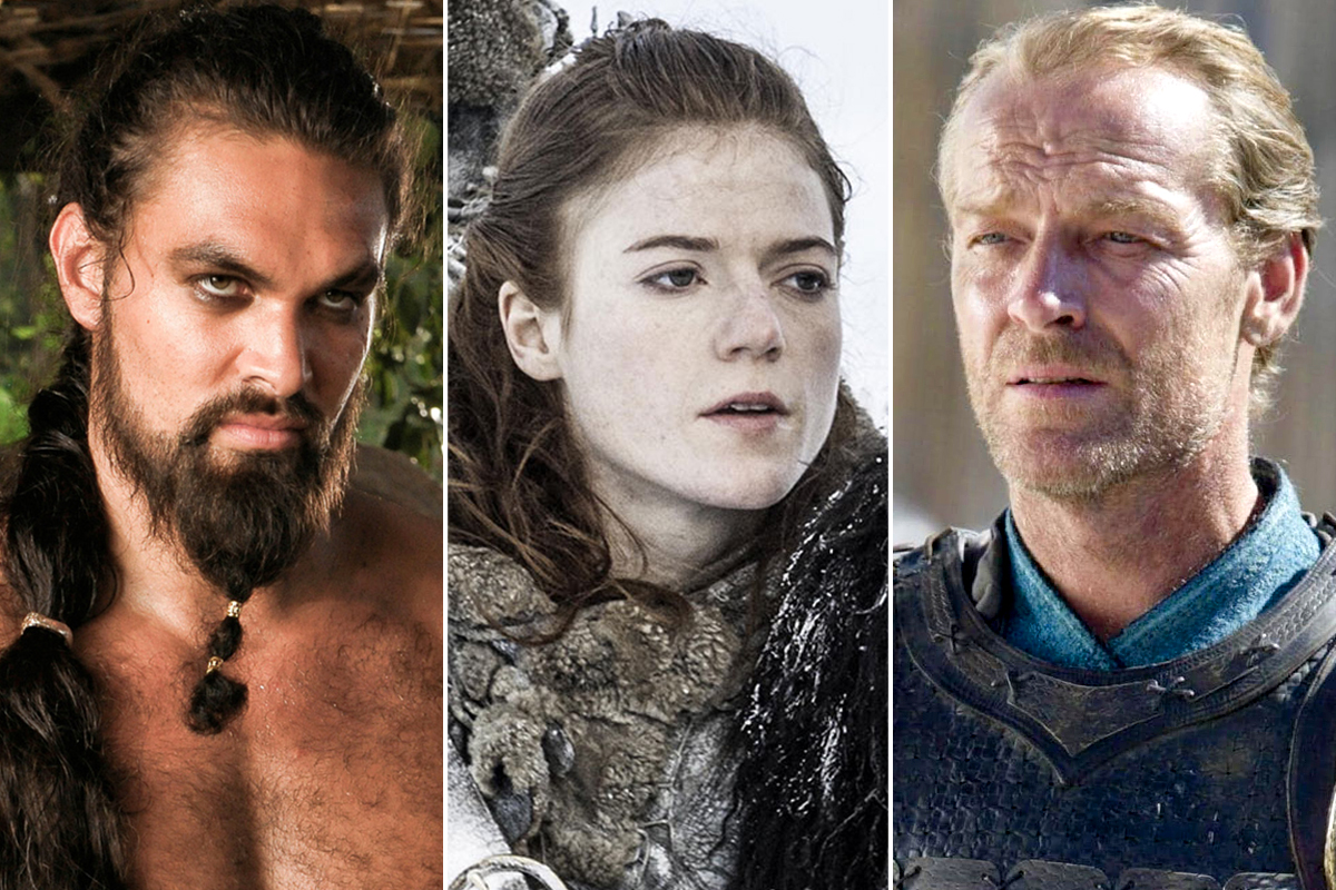 Game of Thrones - Khal Drogo, Ygritte, and Ser Jorah