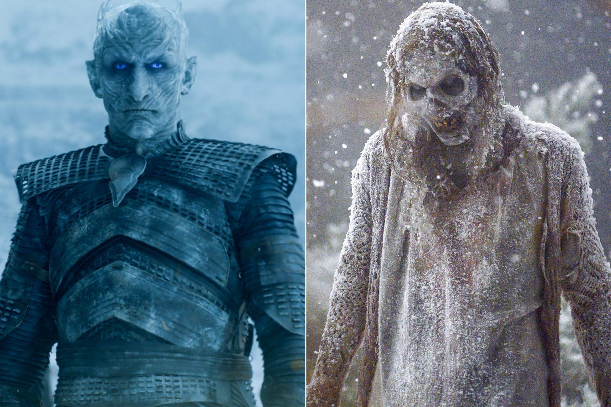 Game of Thrones Episode 66 (season 7, episode 6), debut 8/20/17: Vladimir Furdik as Night King photo: courtesy of HBO -The Walking Dead _ Season 9, Episode 16 - Photo Credit: Gene Page/AMC