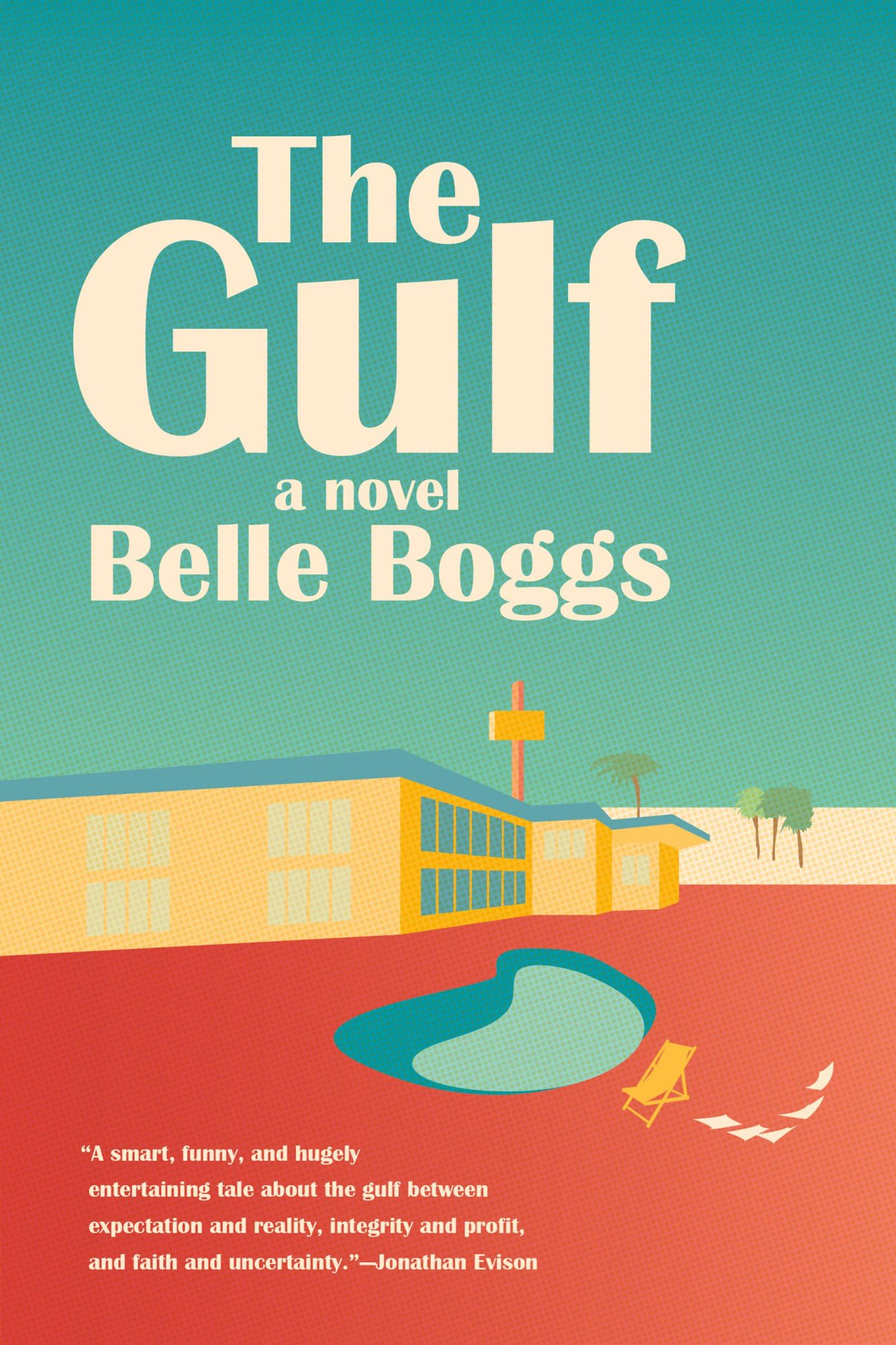book cover for The Gulf by Belle Boggs
