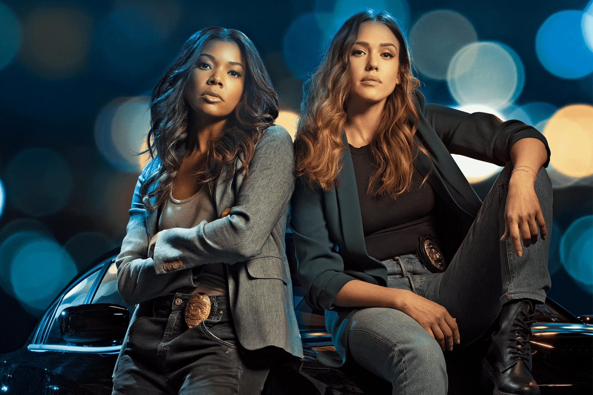 L.A.'S FINEST Gallery Gabrielle Union, Jessica Alba CR: Sony Pictures Television/Spectrum Originals