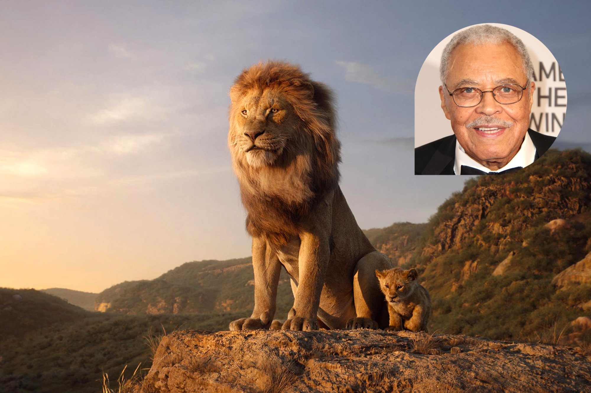 THE LION KING James Earl Jones