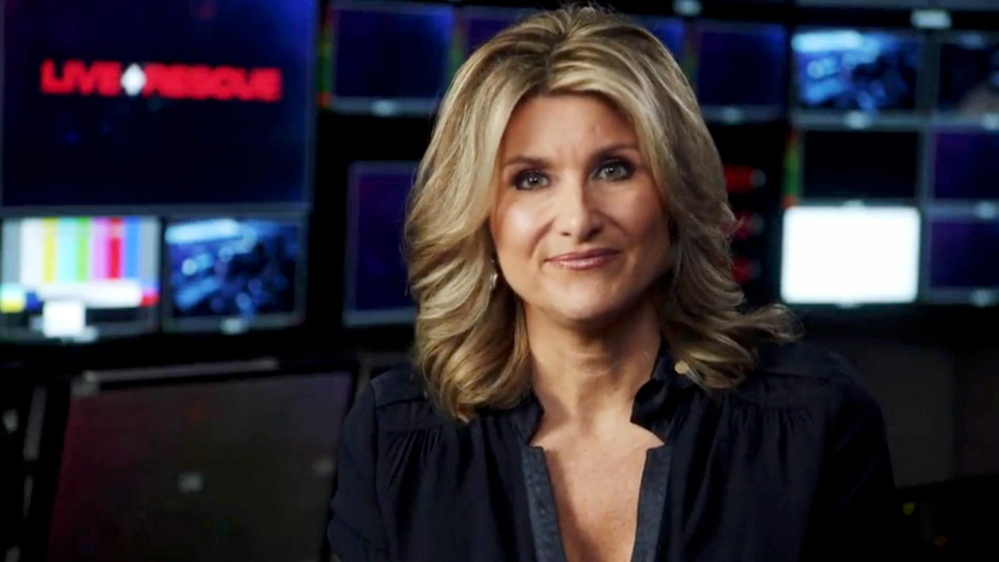 """Hosted by veteran journalist Ashleigh Banfield, """"Live Rescue"""" will follow first responders from across the country as they bravely put their lives on the line responding to emergency rescue calls. CR: A&E"""
