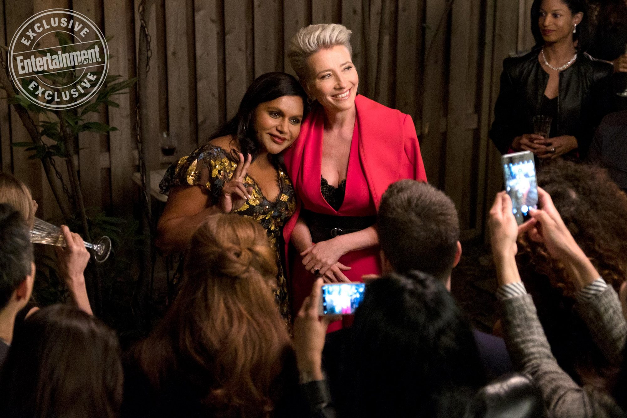LATE NIGHTMindy Kaling and Emma Thompson