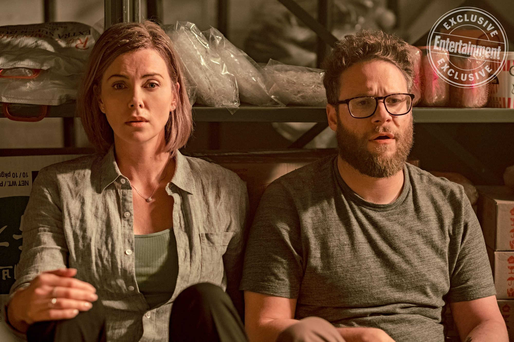 LONG SHOTCharlotte Field (Charlize Theron) and Fred Flarsky (Seth Rogen)