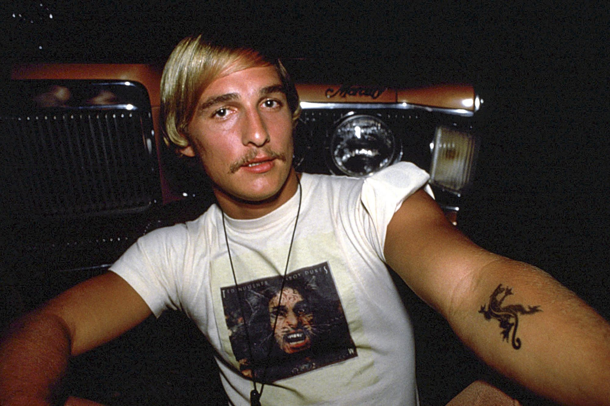 DAZED AND CONFUSED, Matthew McConaughey, 1993, (c) Gramercy Pictures/courtesy Everett Collection