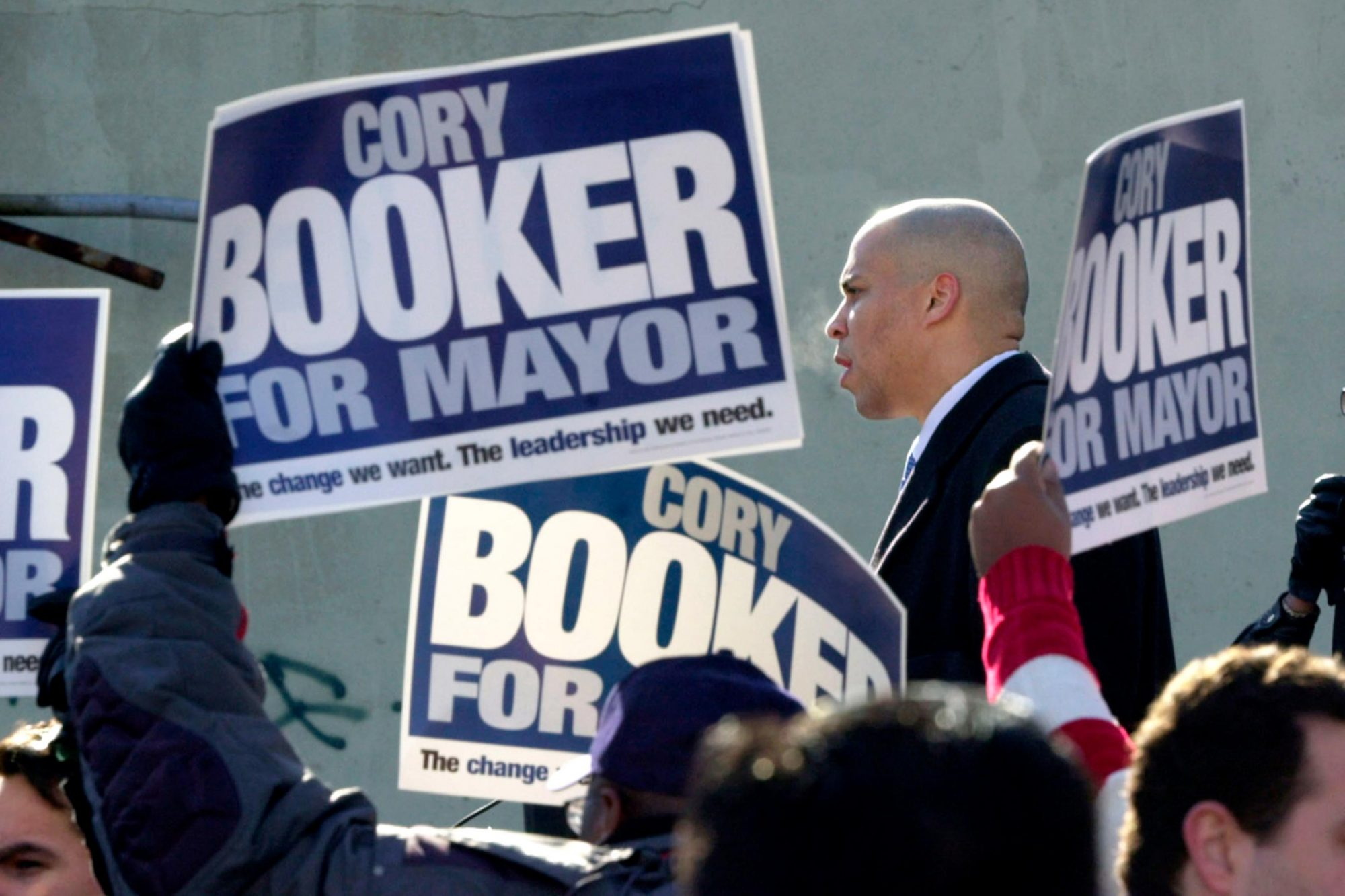 STREET FIGHT, Corey Booker, 2005, © PBS / Courtesy: Everett Collection
