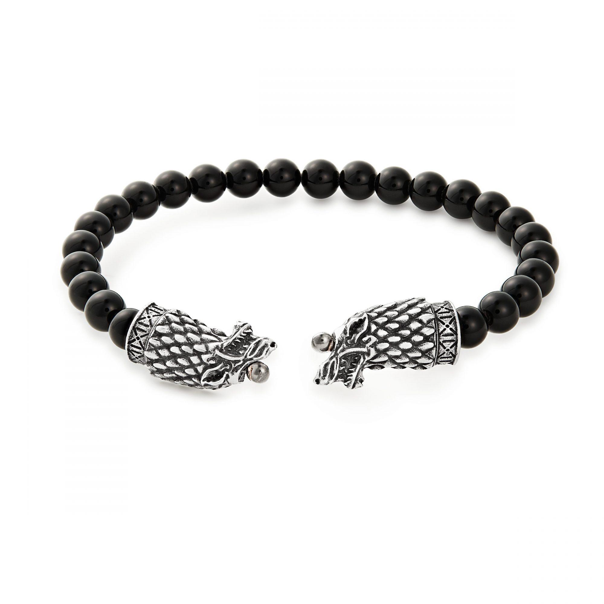 Men's Stark Beaded Bracelet