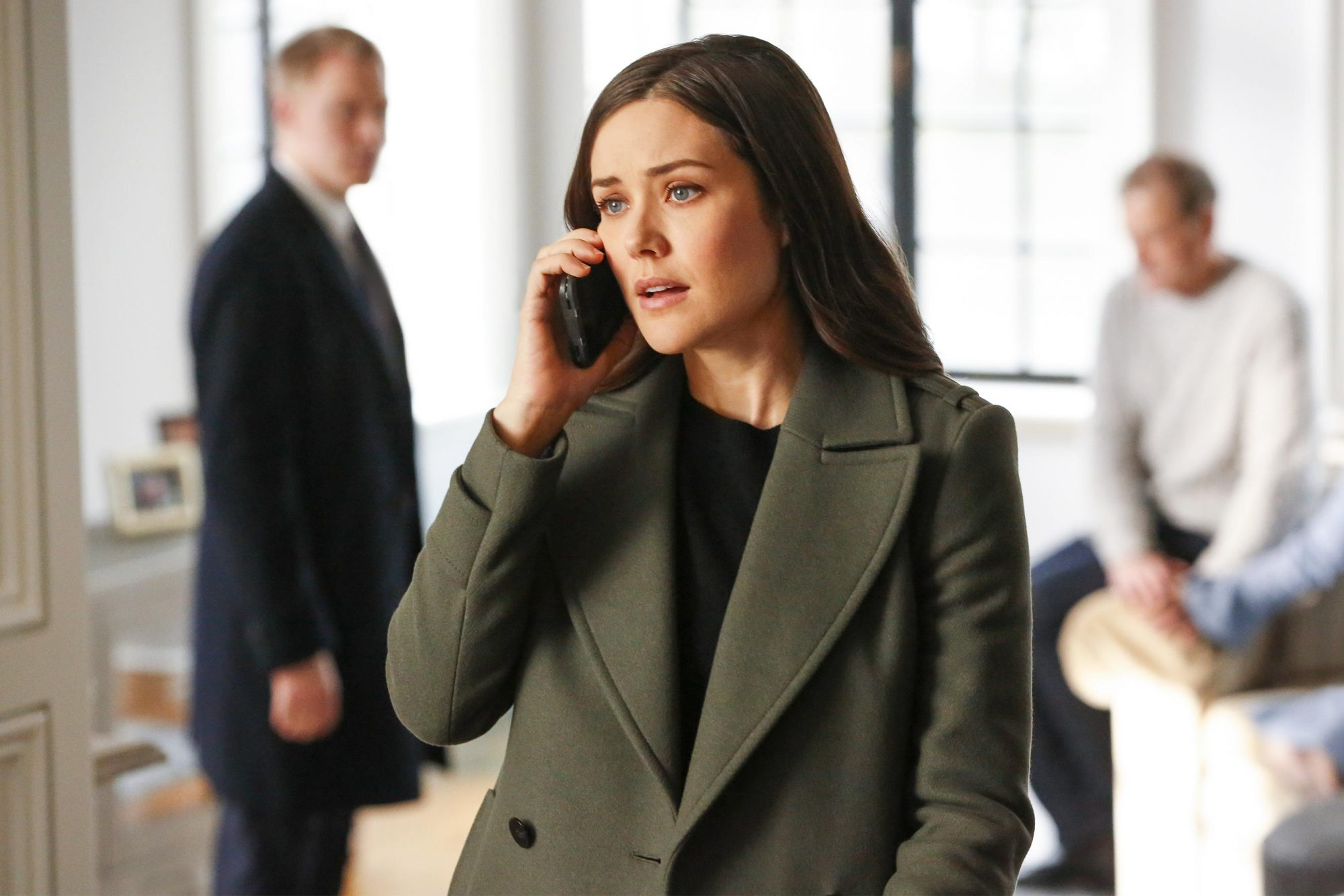 "THE BLACKLIST -- ""The Third Estate (#136)"" Episode 617 -- Pictured: Megan Boone as Elizabeth Keen -- (Photo by: Will Hart/NBC)"