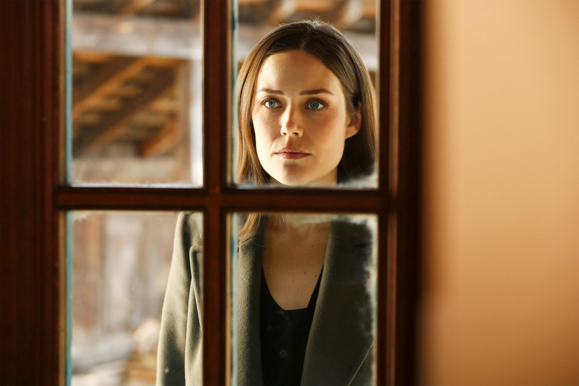 "THE BLACKLIST -- ""Rassvet"" Episode 619 -- Pictured: Megan Boone as Elizabeth Keen -- (Photo by: Will Hart/NBC)"