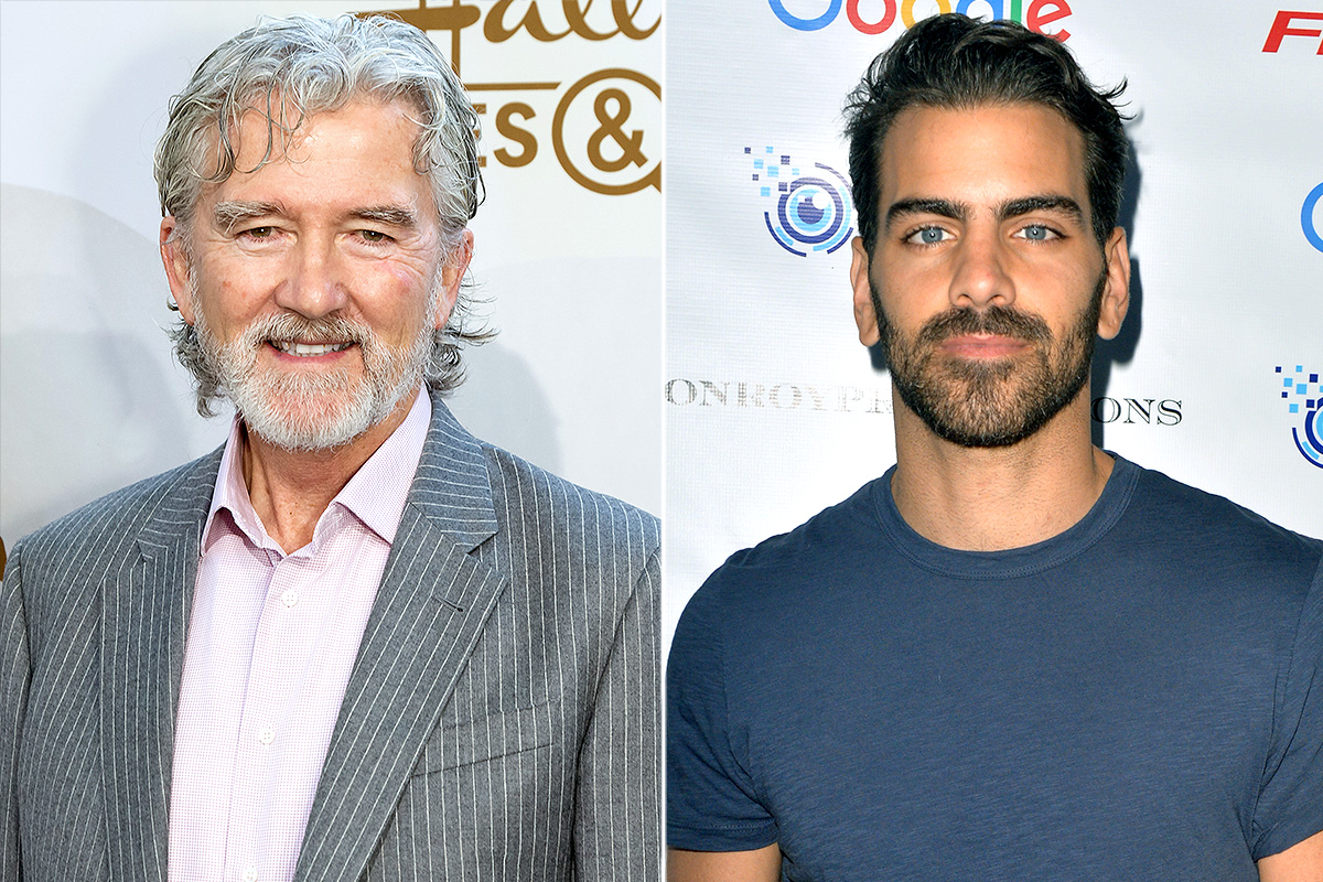Patrick Duffy and Nyle DiMarco