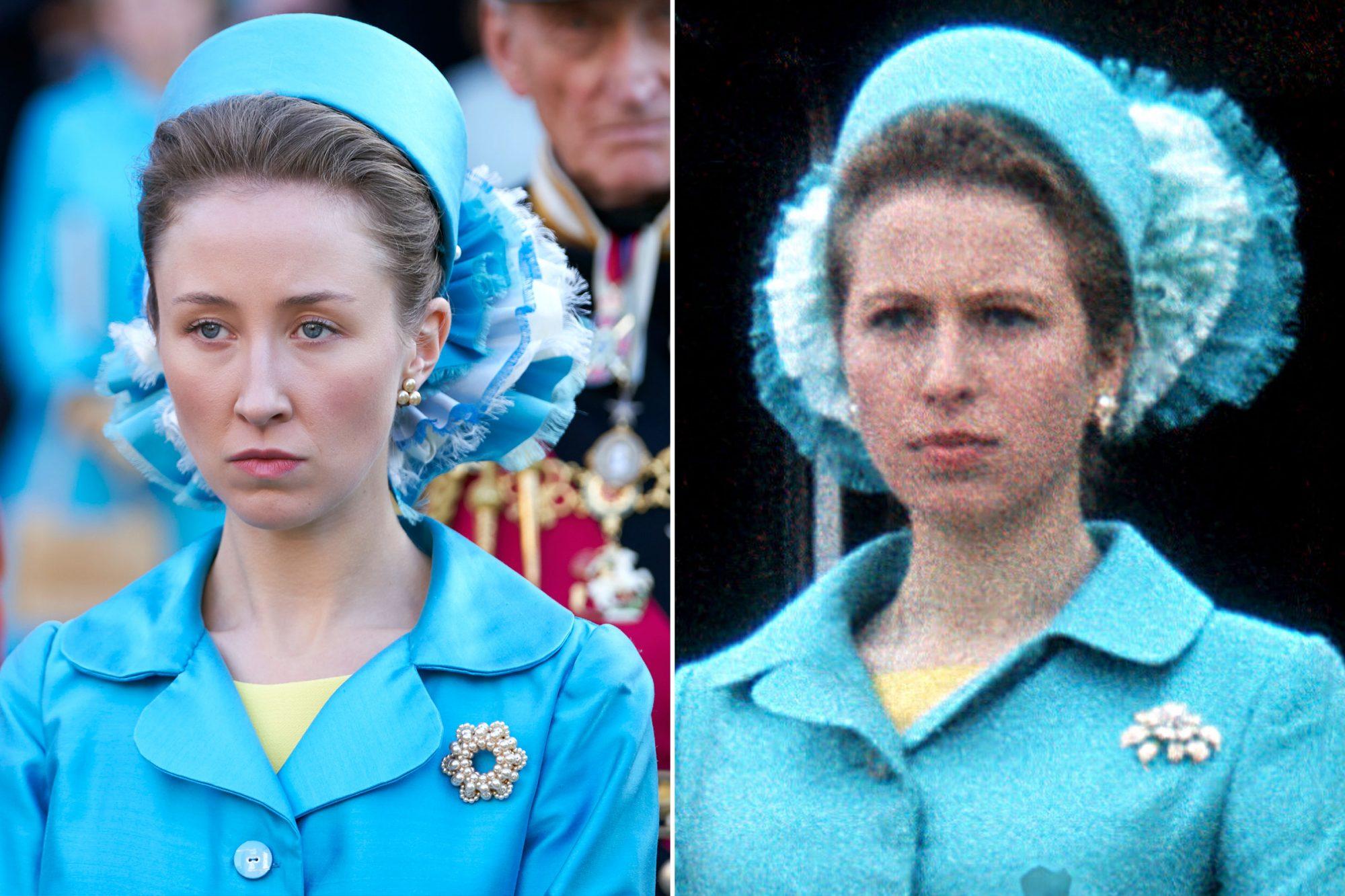The Crown; Princess Anne