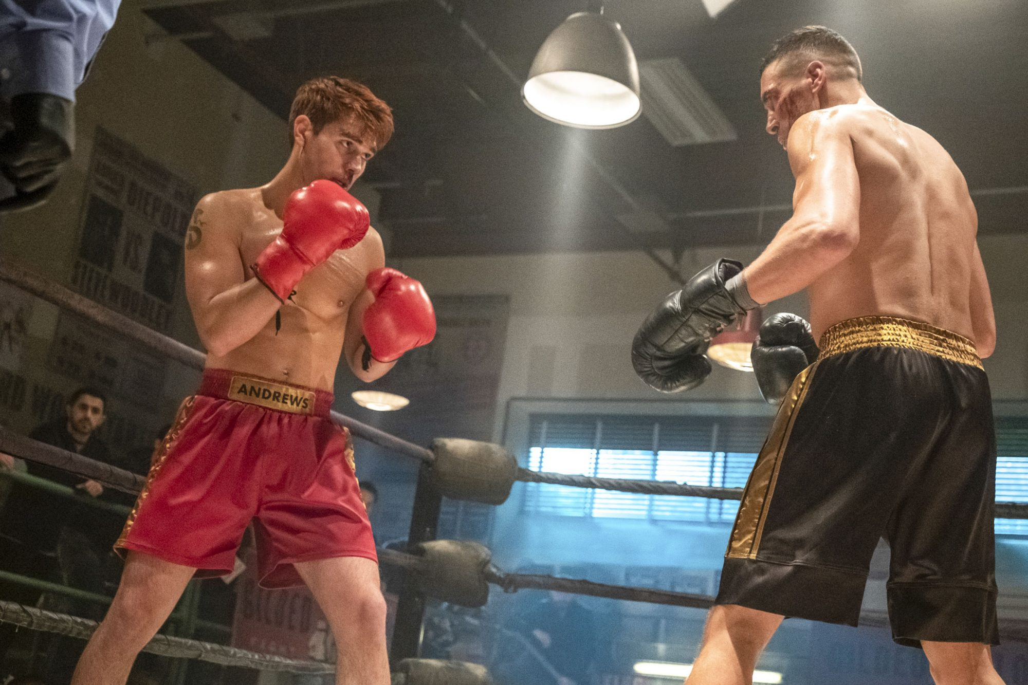 "Riverdale -- ""Chapter Fifty-Three: Jawbreaker"" -- Image Number: RVD318b_0228.jpg -- Pictured (left): KJ Apa as Archie -- Photo: Katie Yu/The CW -- © 2019 The CW Network, LLC. All rights reserved."