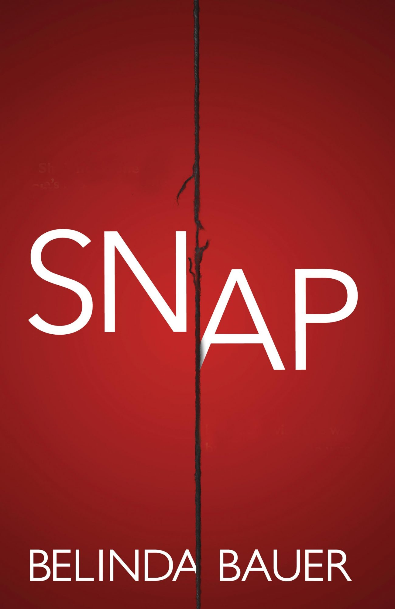 Snap, by Belinda Bauer