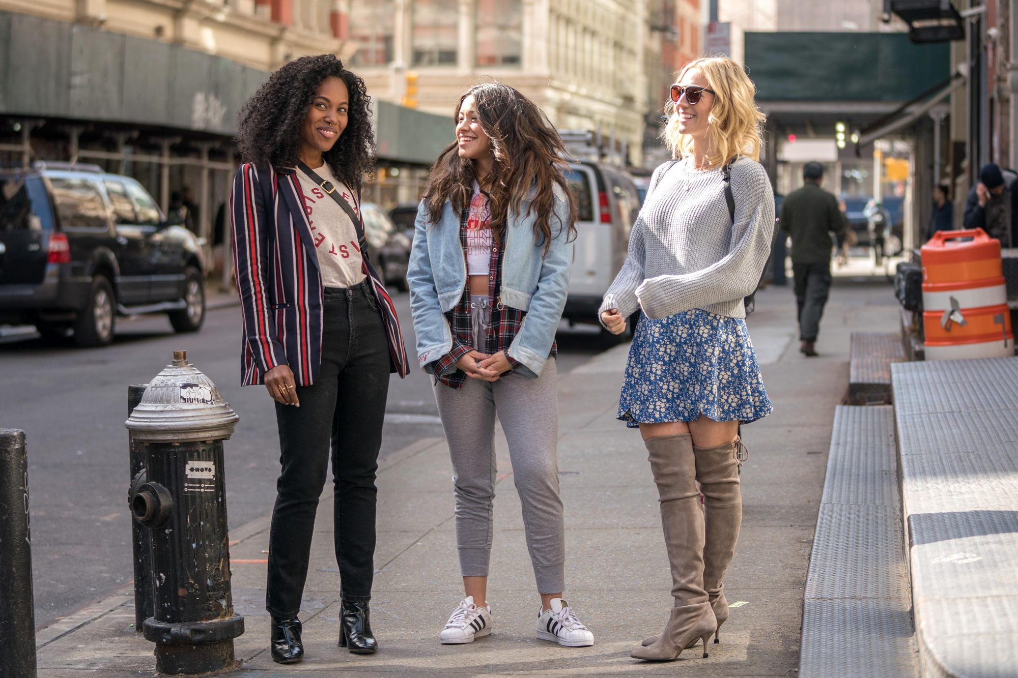 Someone Great DeWanda Wise, Gina Rodriguez, Brittany Snow CR: Sarah Shatz/Netflix