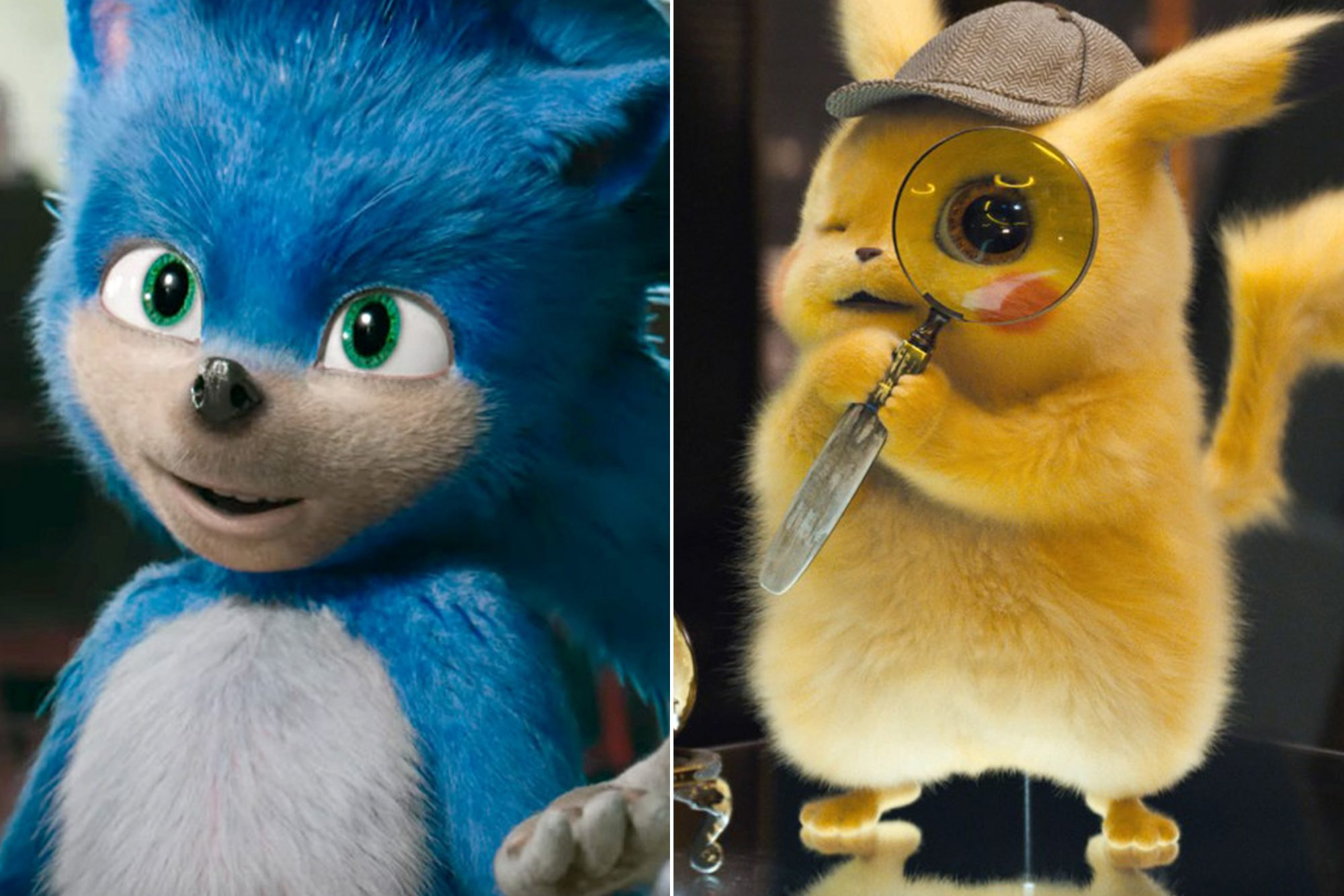 Sonic, Detective Pikachu