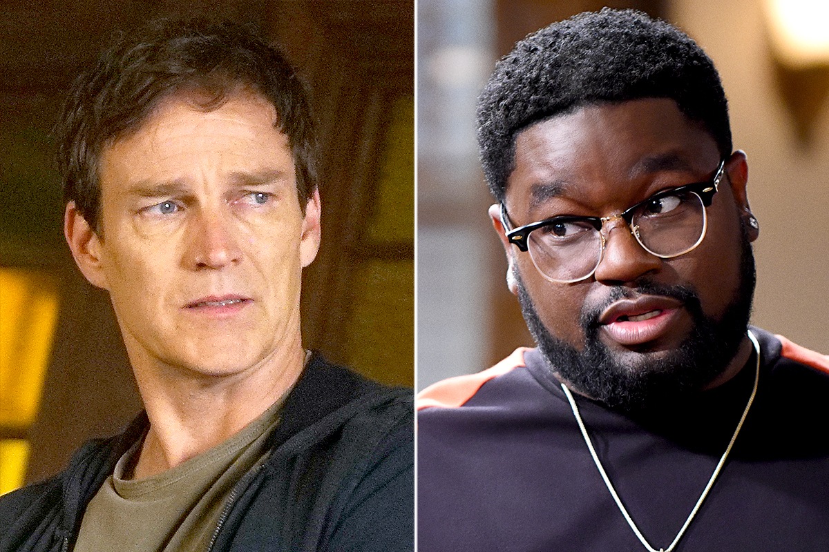 Stephen Moyer and Lil Rel Howery