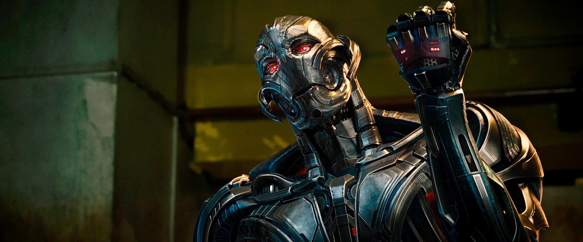 Avengers: Age Of Ultron (2015)Ultron Prime (voiced by James Spader)