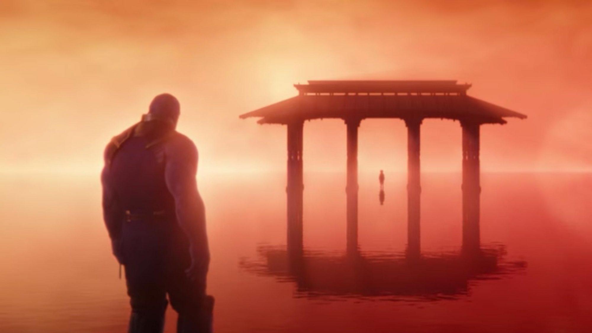 Avengers: Infinity War (screen grab) Josh Brolin as Thanos CR: Marvel Studios