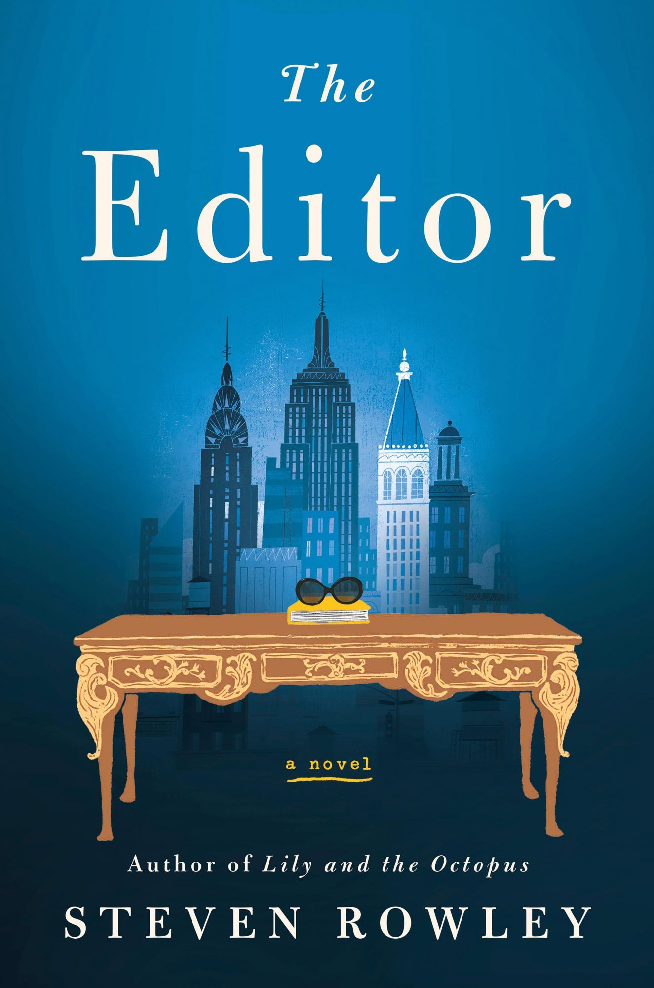book cover for Steven Rowley's The Editor