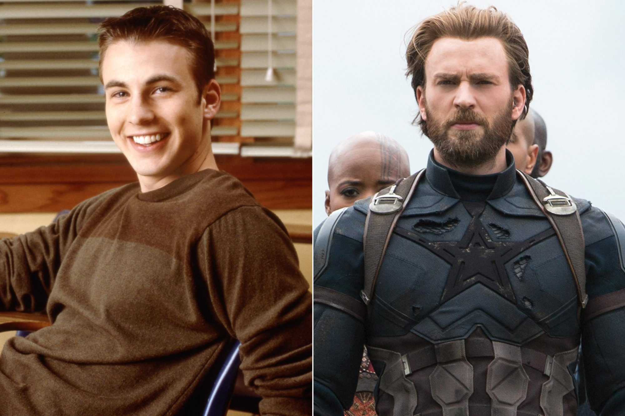 THEN-AND-NOW-Avengers-Chris-Evans