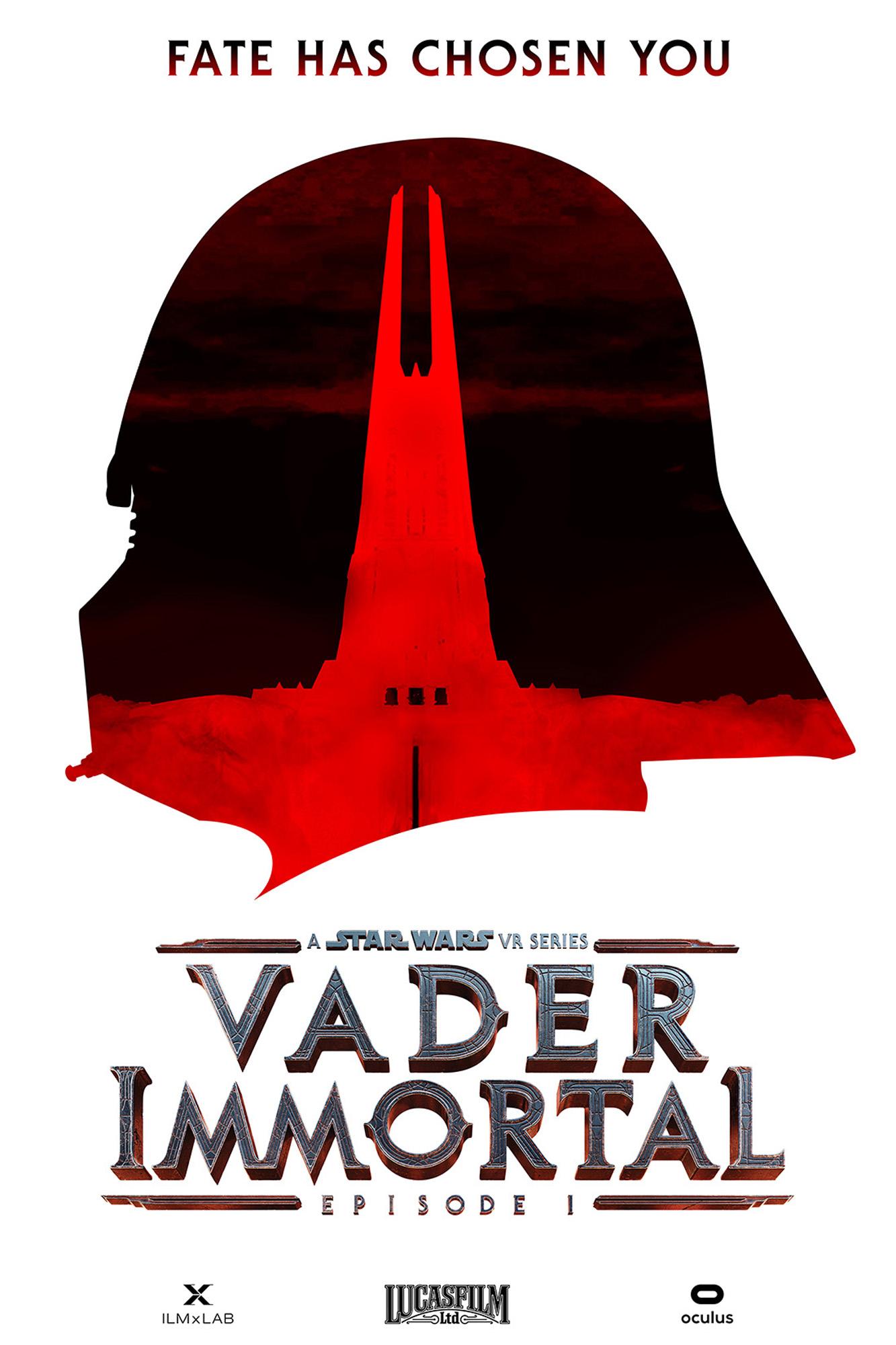 Vader ImmortalEpisode 1PosterCredit: ILMxLAB