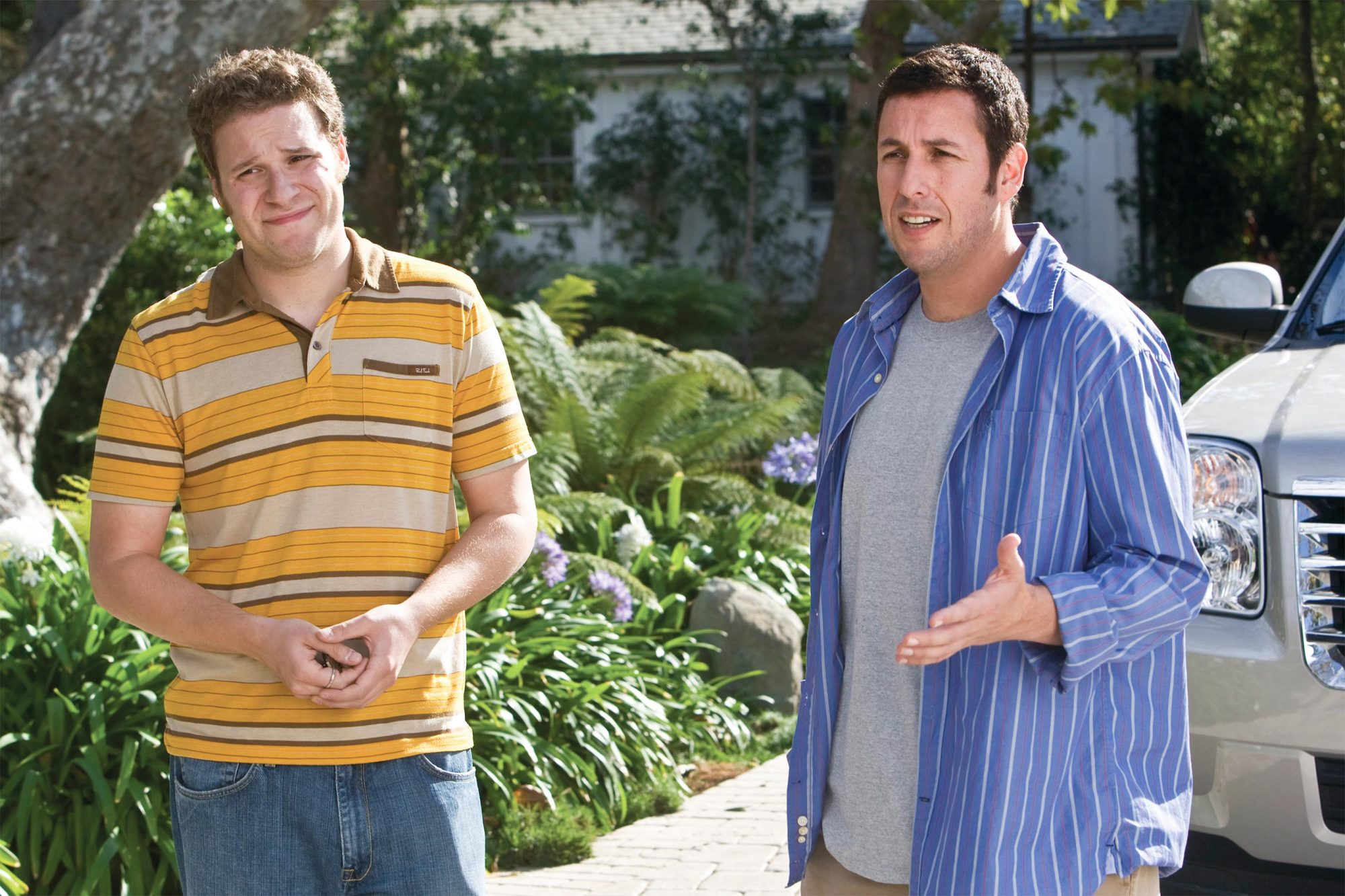 9. Seth Rogen and Adam Sandler in Funny People (2009)