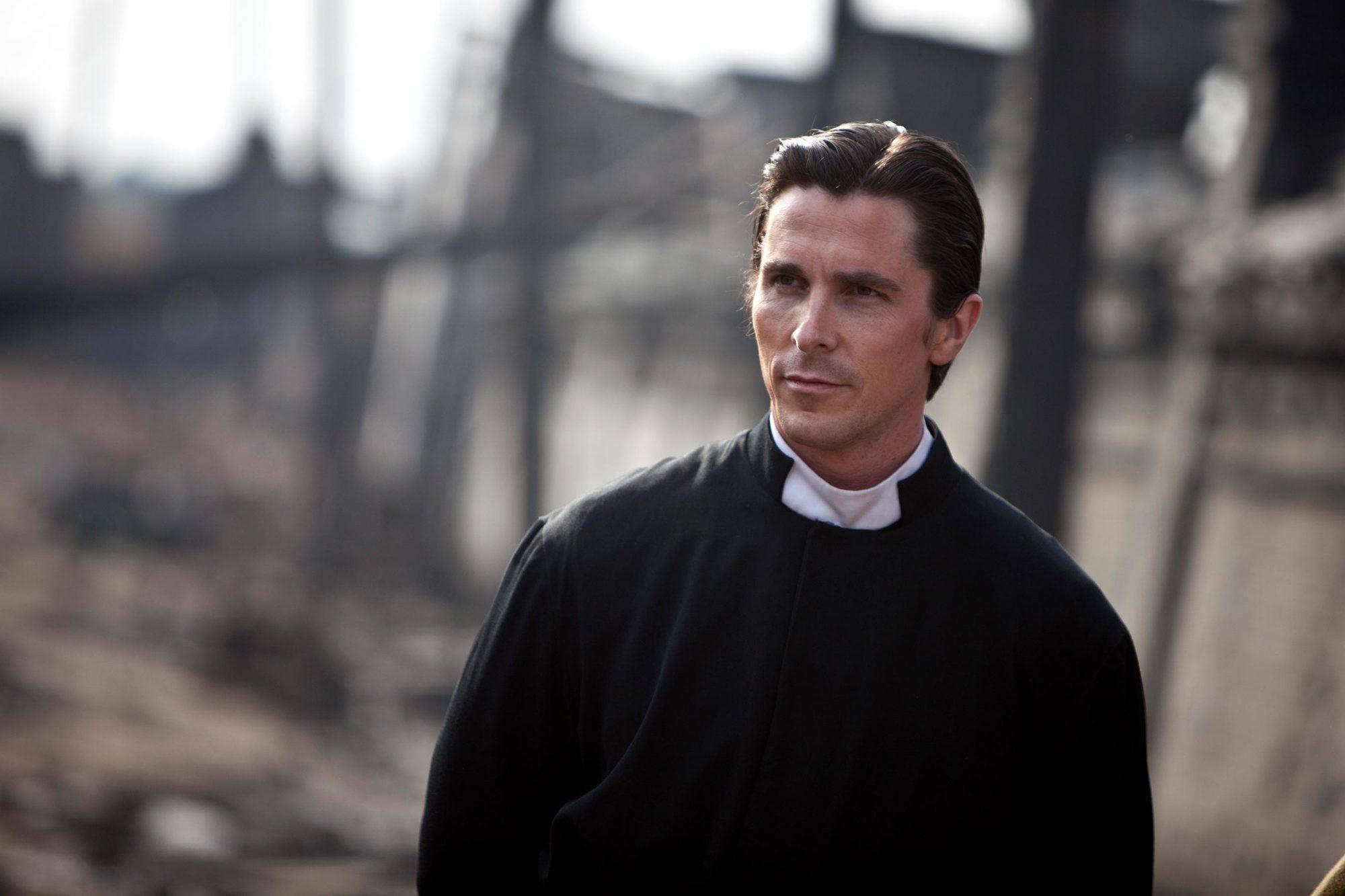 Christian Bale in Flowers of War, 2011