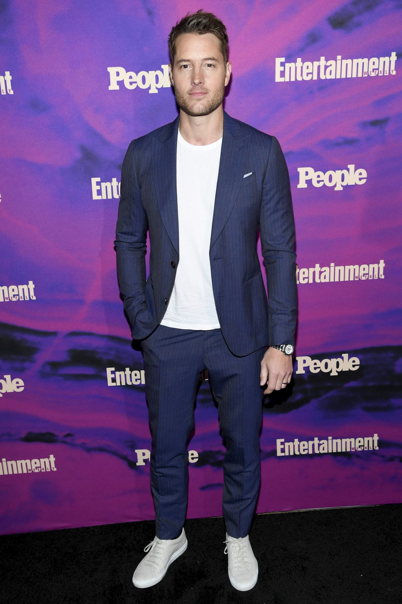 NEW YORK, NEW YORK - MAY 13: Justin Hartley of This Is Us attends the Entertainment Weekly & PEOPLE New York Upfronts Party on May 13, 2019 in New York City. (Photo by Dimitrios Kambouris/Getty Images for Entertainment Weekly & PEOPLE)