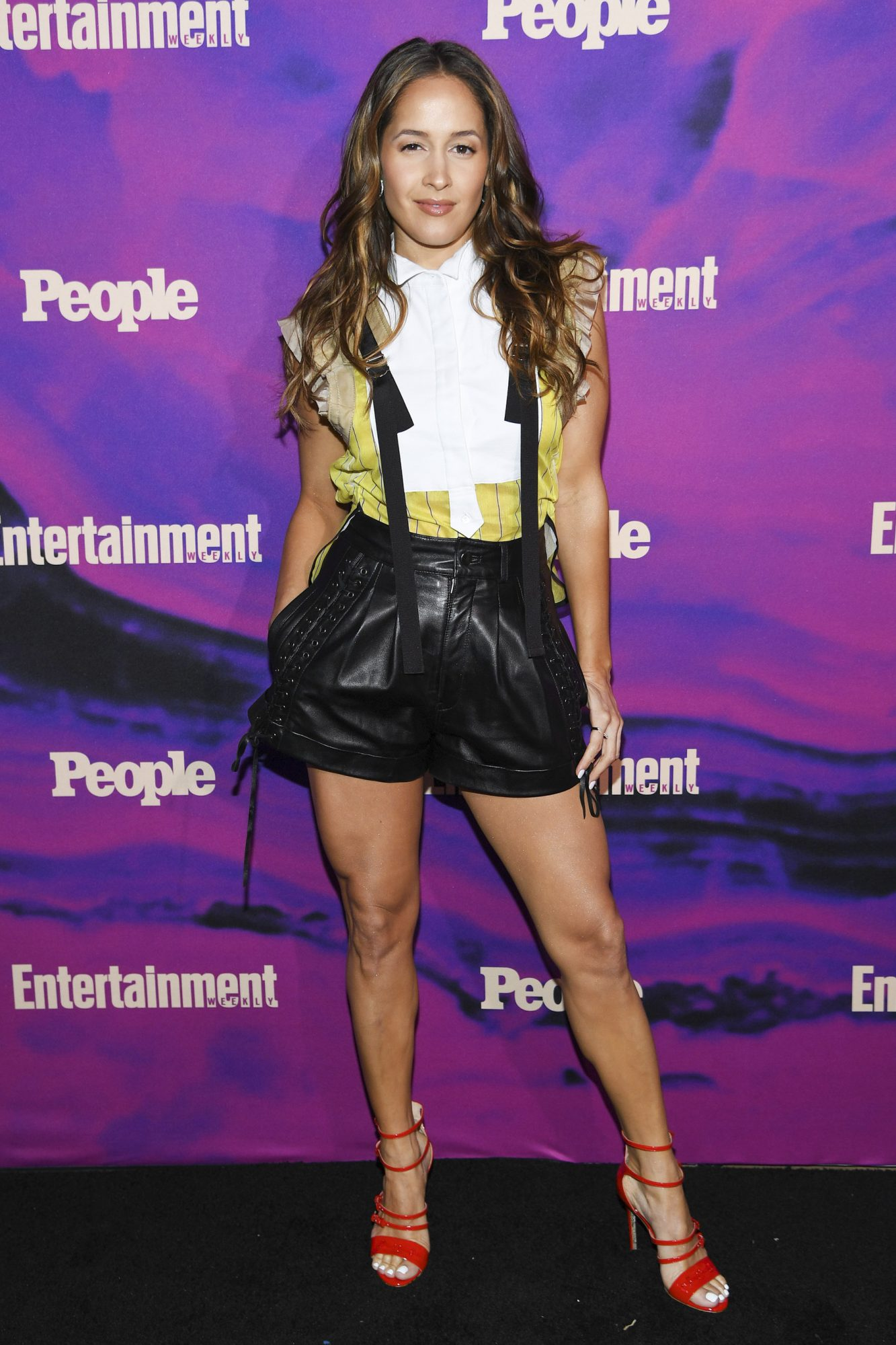 NEW YORK, NEW YORK - MAY 13: Jaina Lee Ortiz of Station 19 attends the Entertainment Weekly & PEOPLE New York Upfronts Party on May 13, 2019 in New York City. (Photo by Dimitrios Kambouris/Getty Images for Entertainment Weekly & PEOPLE)
