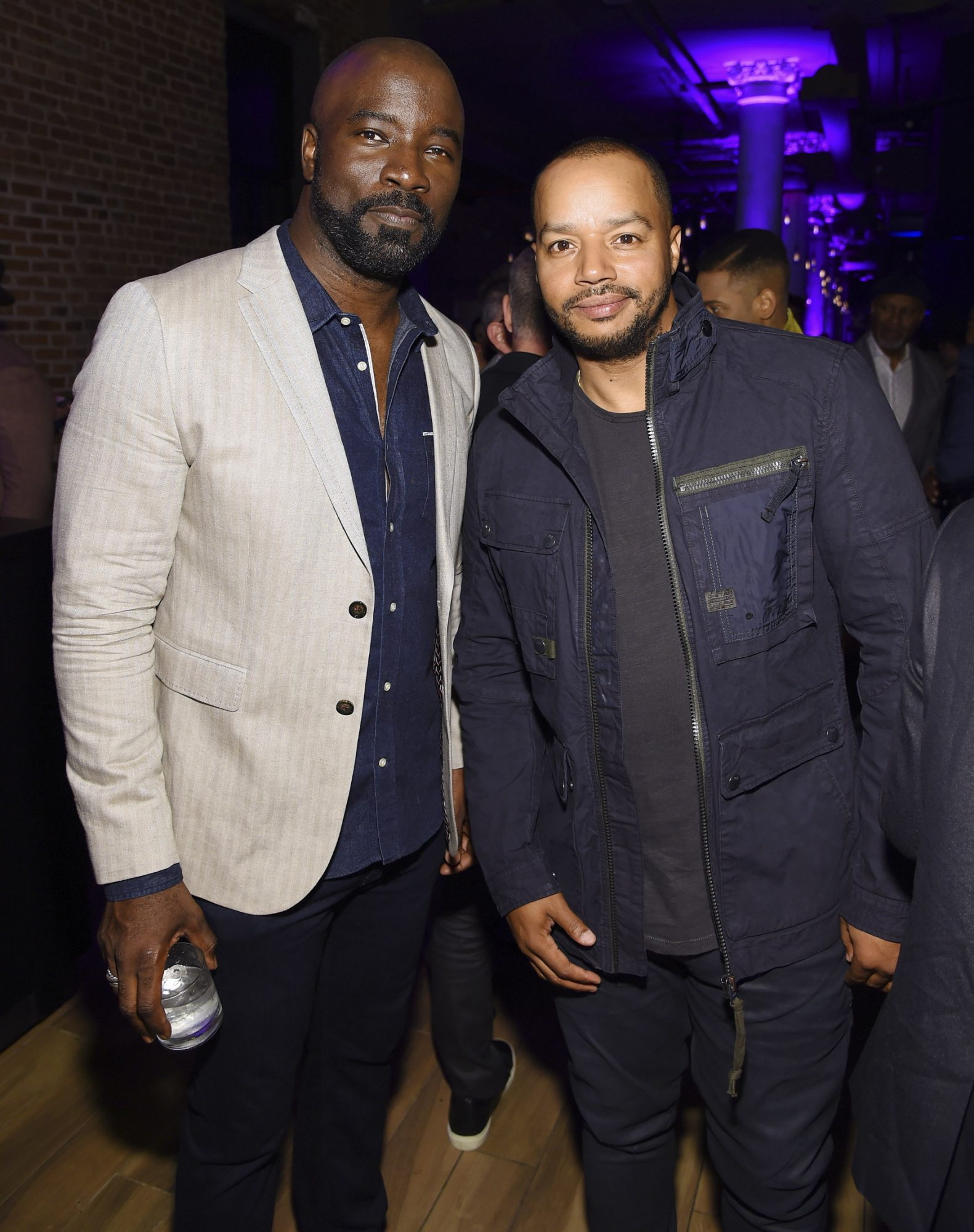 NEW YORK, NEW YORK - MAY 13: Mike Colter and Donald Faison attend the Entertainment Weekly & PEOPLE New York Upfronts Party on May 13, 2019 in New York City. (Photo by Larry Busacca/Getty Images for Entertainment Weekly & PEOPLE)